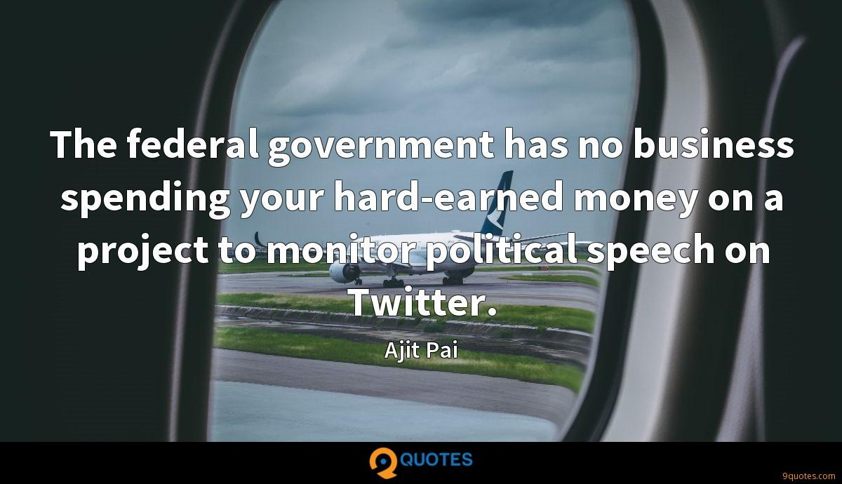 The federal government has no business spending your hard-earned money on a project to monitor political speech on Twitter.