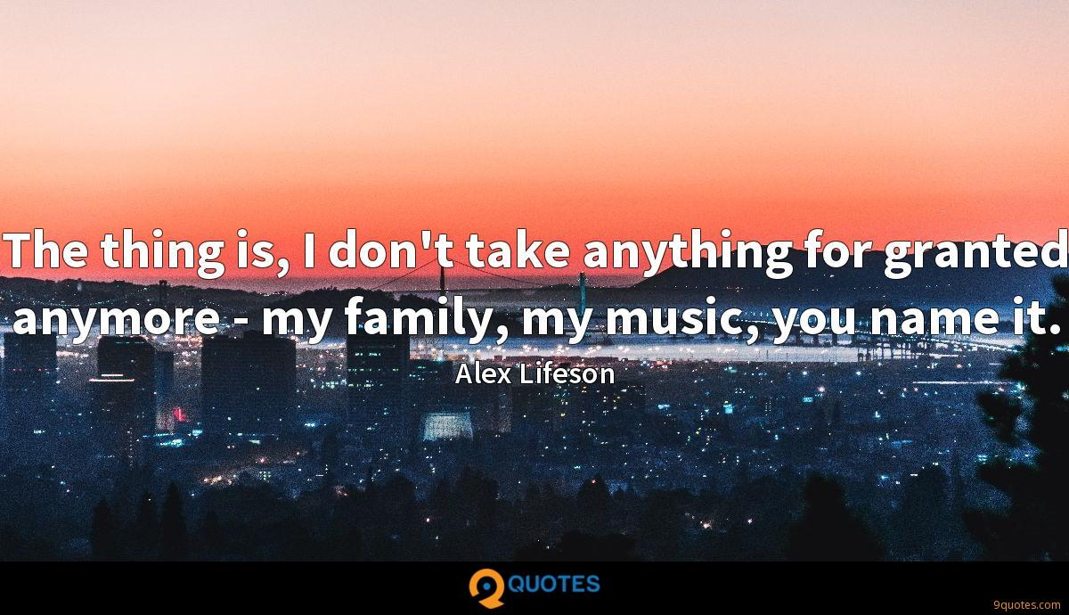 Alex Lifeson quotes
