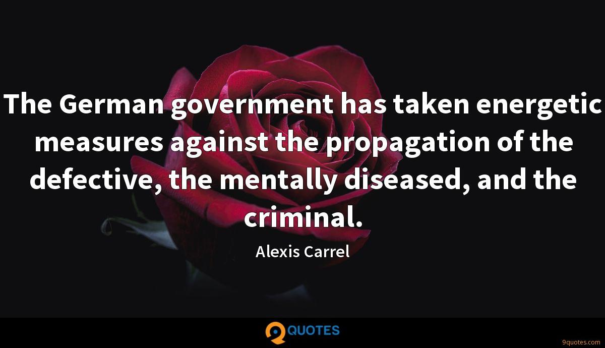 Alexis Carrel quotes