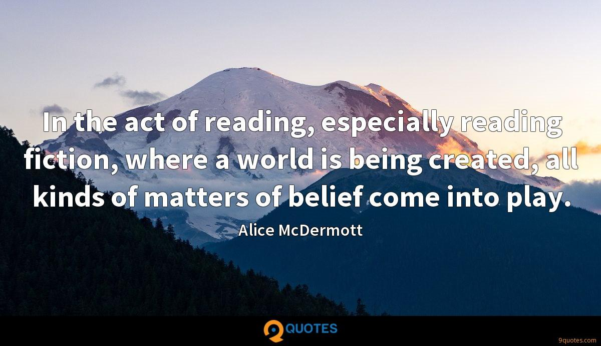 Alice McDermott quotes
