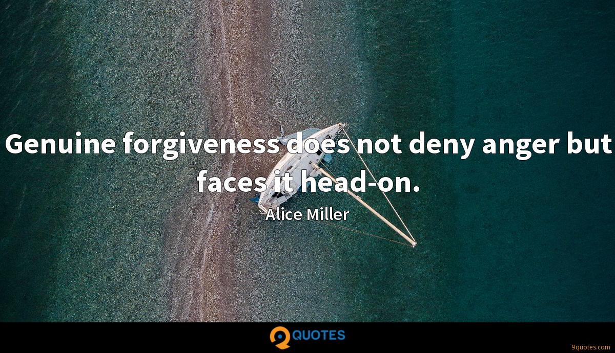 Genuine forgiveness does not deny anger but faces it head-on.