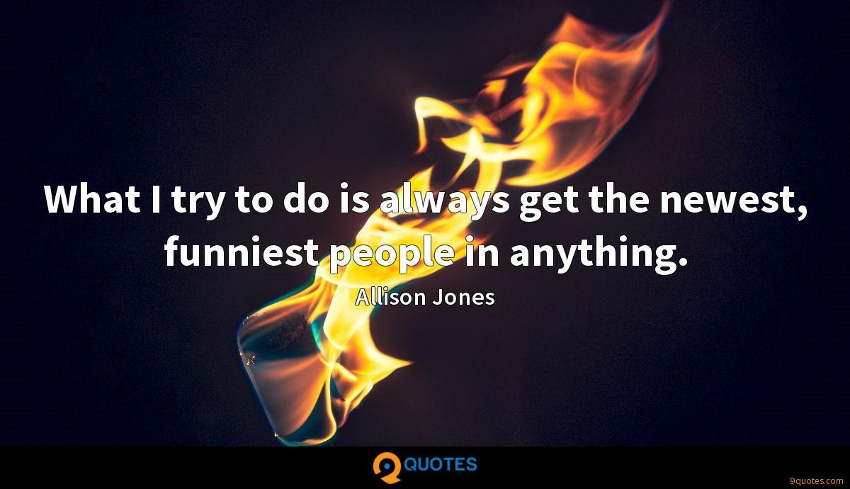 Allison Jones quotes