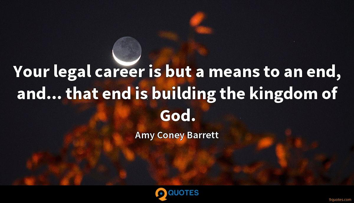 Amy Coney Barrett quotes