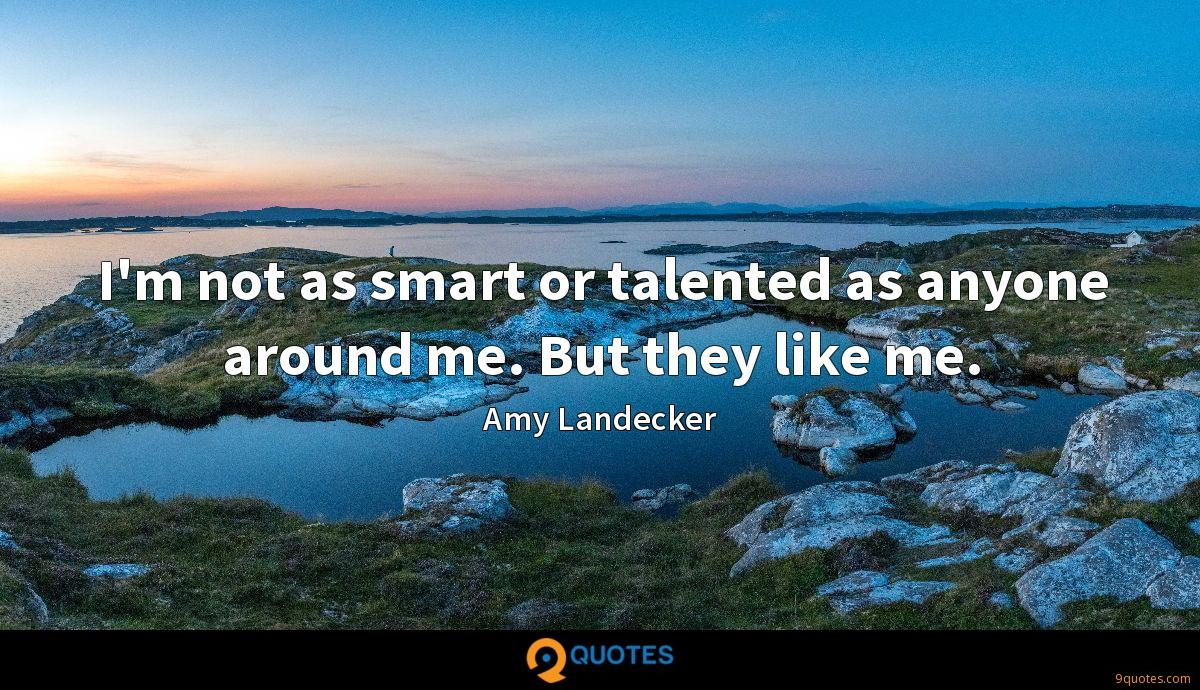 Amy Landecker quotes