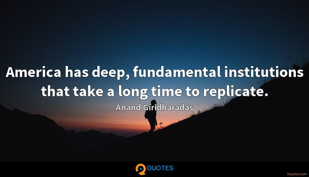 Anand Giridharadas quotes