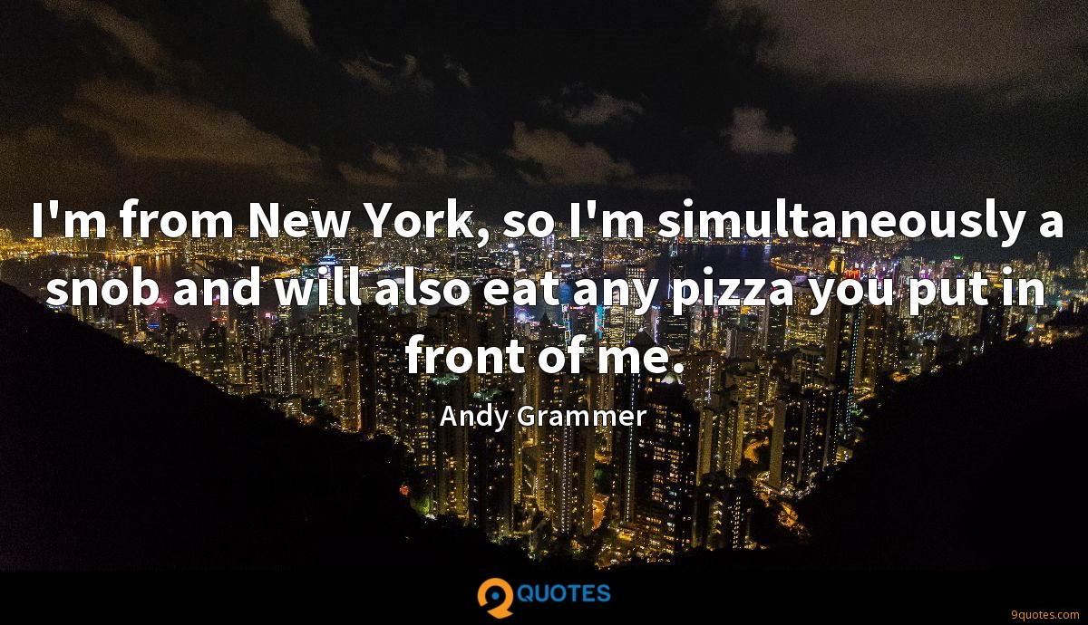 I'm from New York, so I'm simultaneously a snob and will also eat any pizza you put in front of me.
