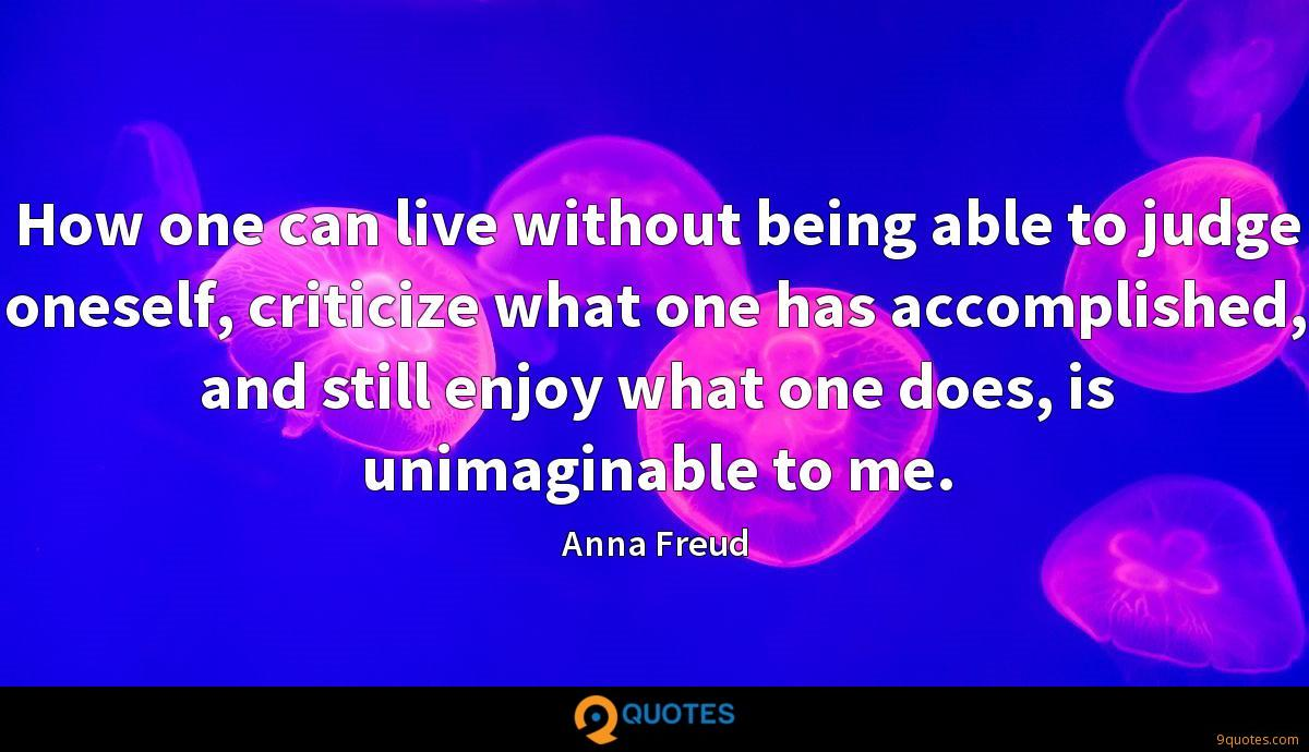 Anna Freud quotes