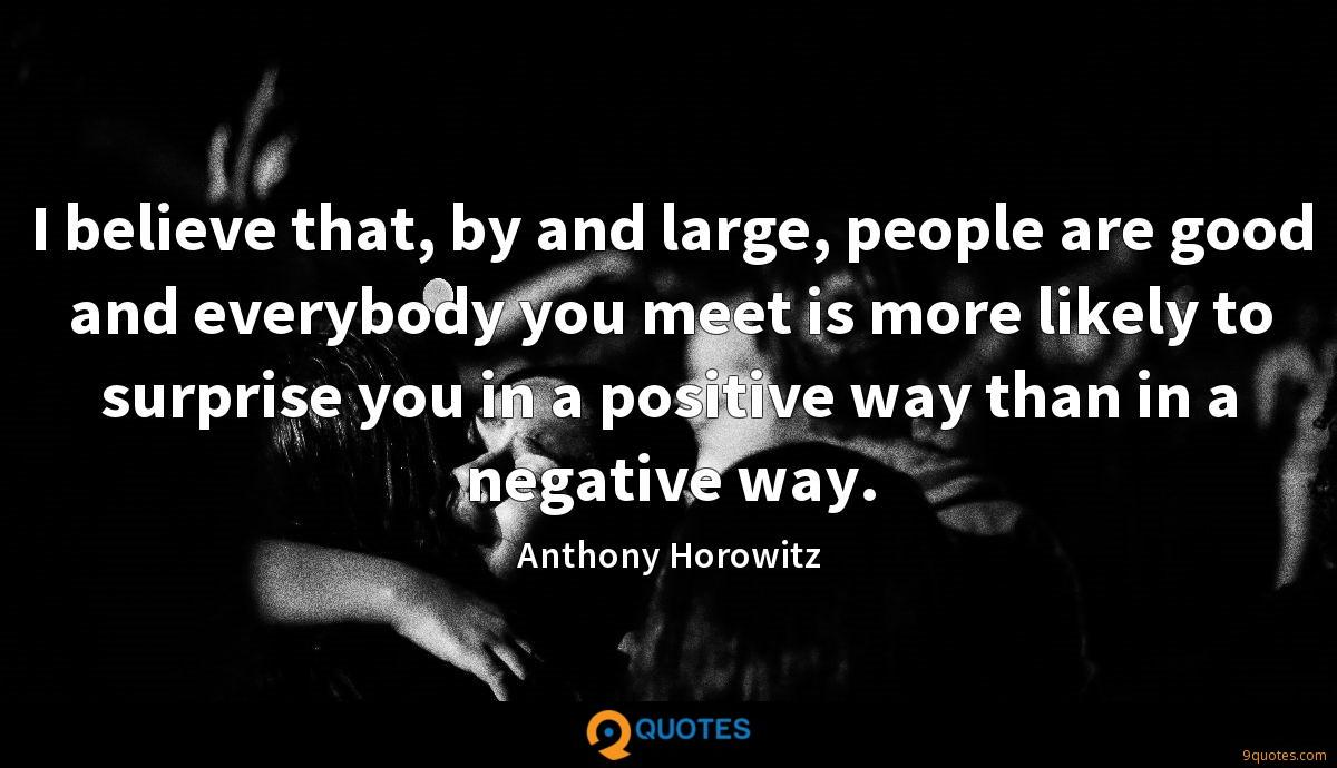Anthony Horowitz quotes