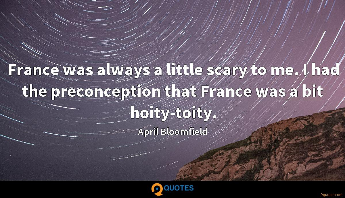 April Bloomfield quotes