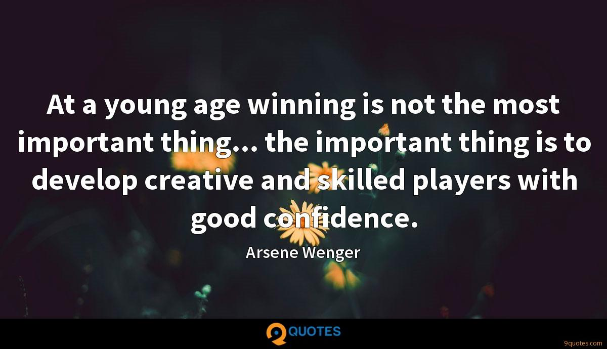 Arsene Wenger quotes