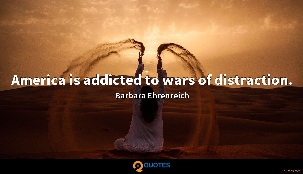 America is addicted to wars of distraction.