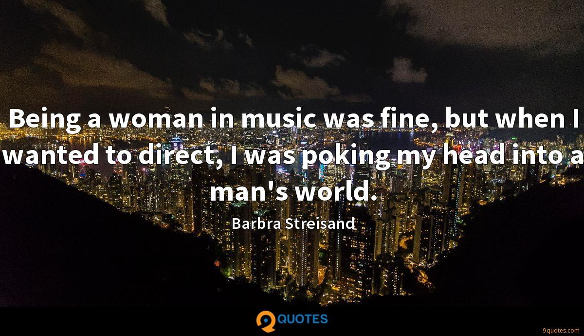 Barbra Streisand quotes
