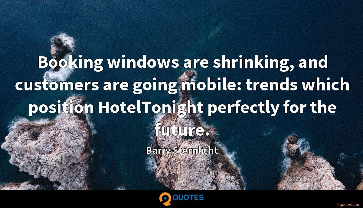 Booking windows are shrinking, and customers are going mobile: trends which position HotelTonight perfectly for the future.