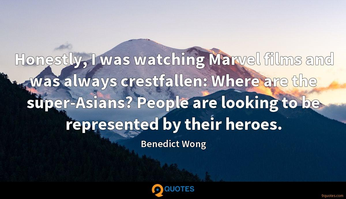 Benedict Wong quotes