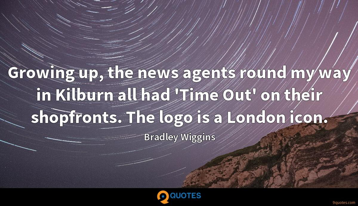 Growing up, the news agents round my way in Kilburn all had 'Time Out' on their shopfronts. The logo is a London icon.