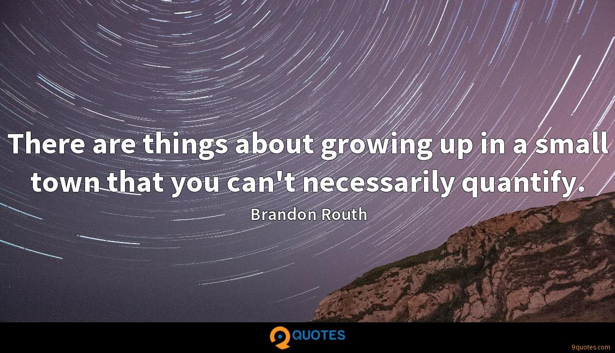 Brandon Routh quotes