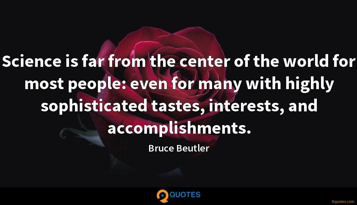 Bruce Beutler quotes
