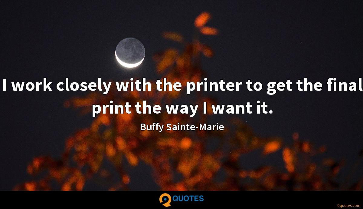 Buffy Sainte-Marie quotes