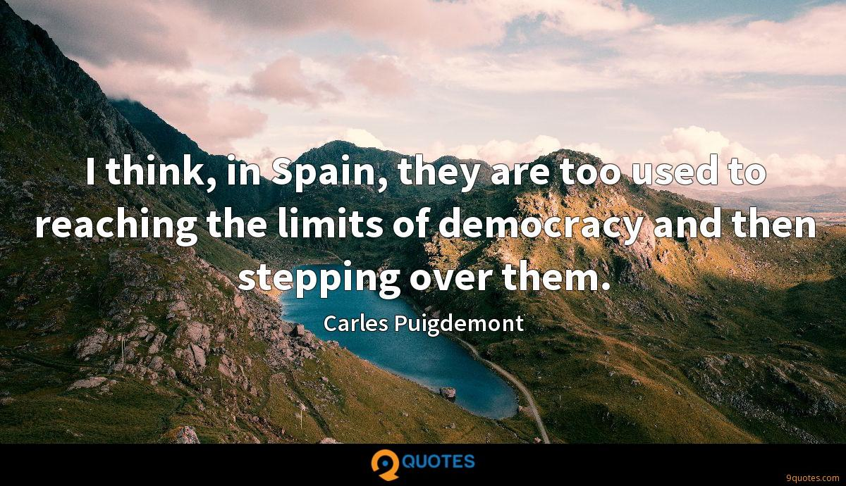 Carles Puigdemont quotes
