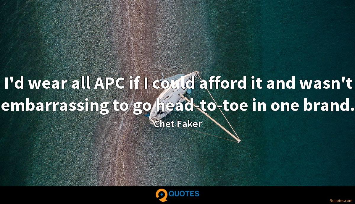 Chet Faker quotes