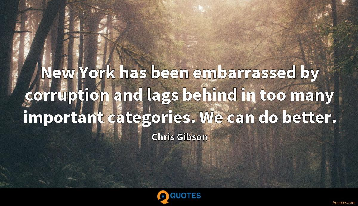 Chris Gibson quotes