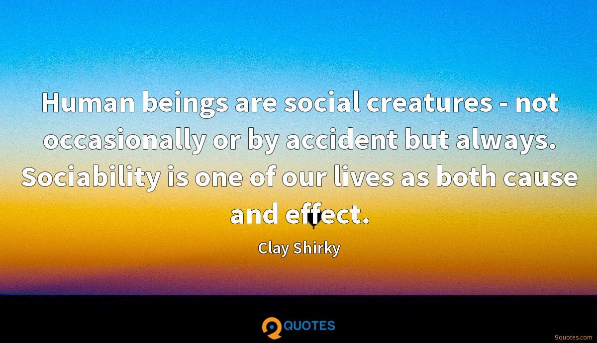 Clay Shirky quotes