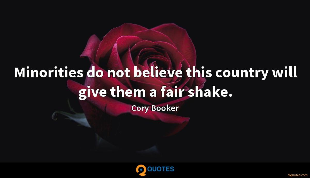Cory Booker quotes