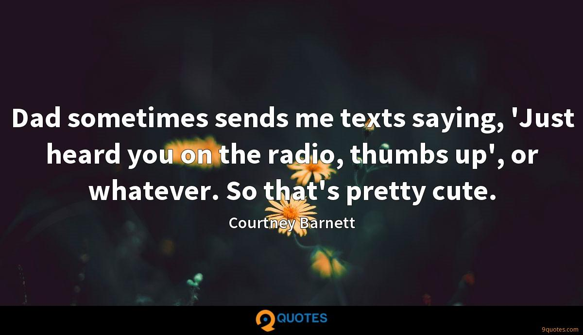 Courtney Barnett quotes