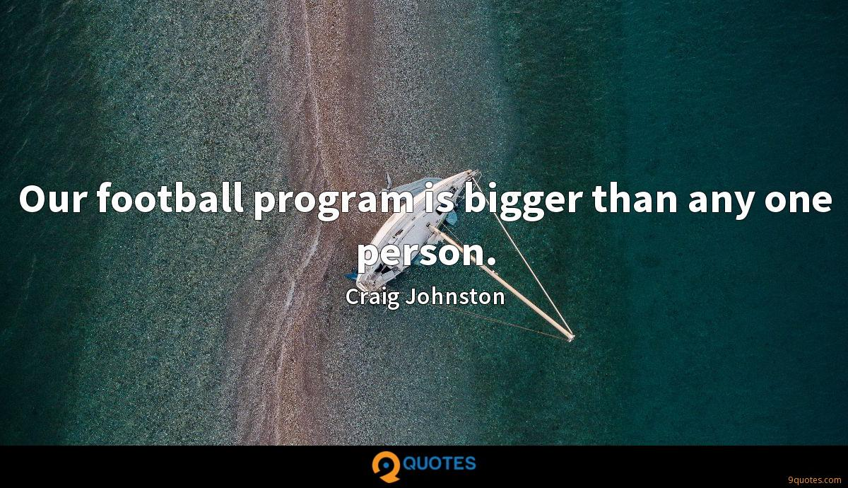 Craig Johnston quotes