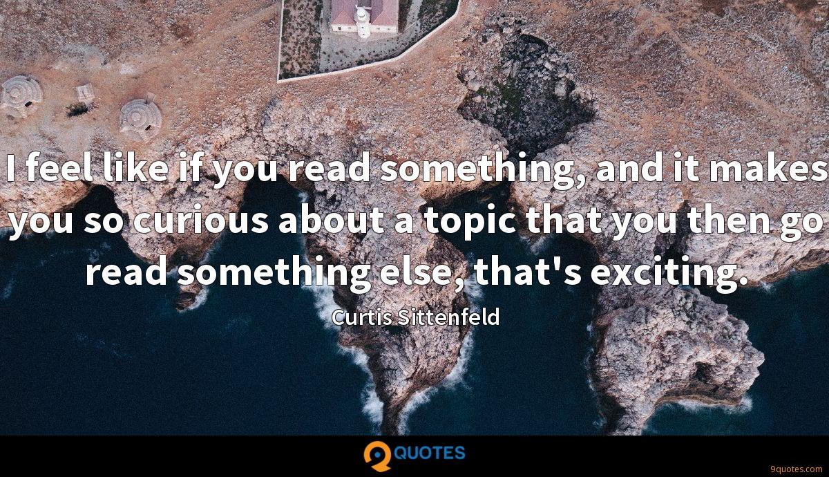 Curtis Sittenfeld quotes
