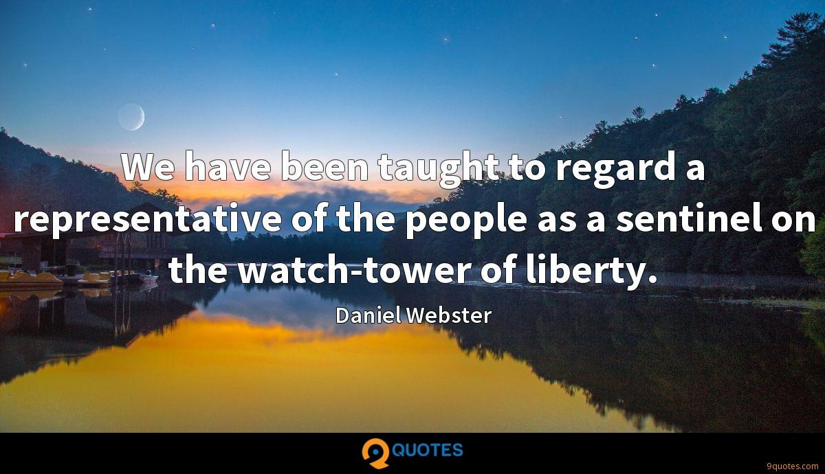Daniel Webster quotes