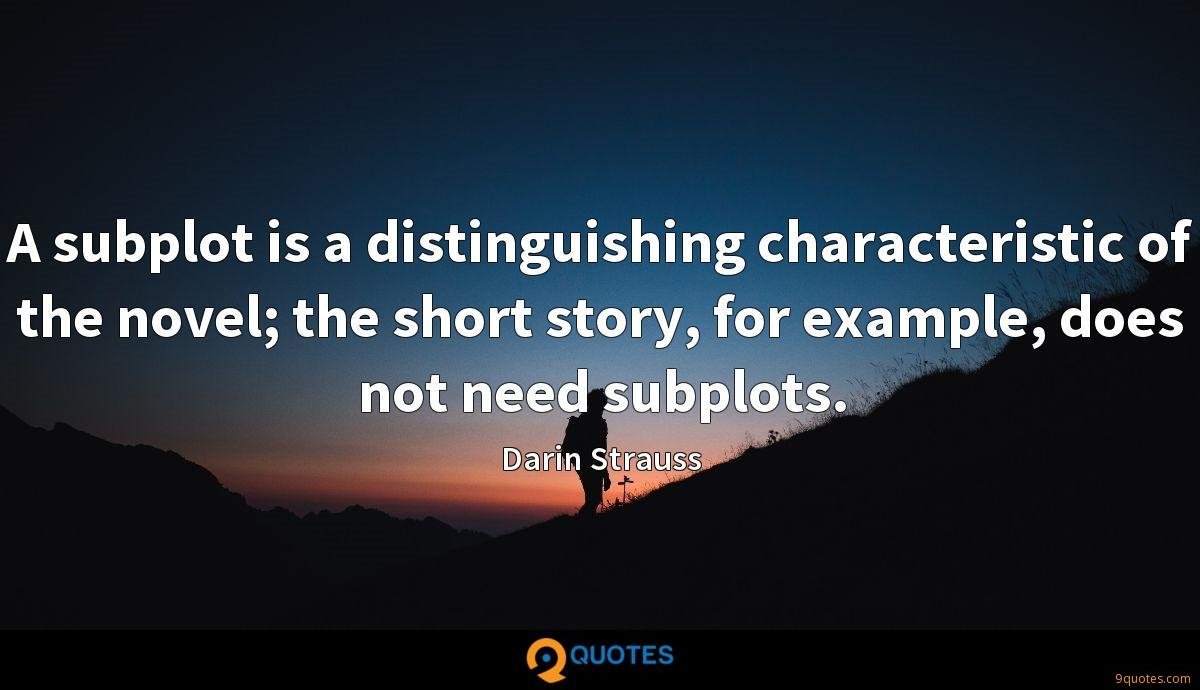 Darin Strauss quotes