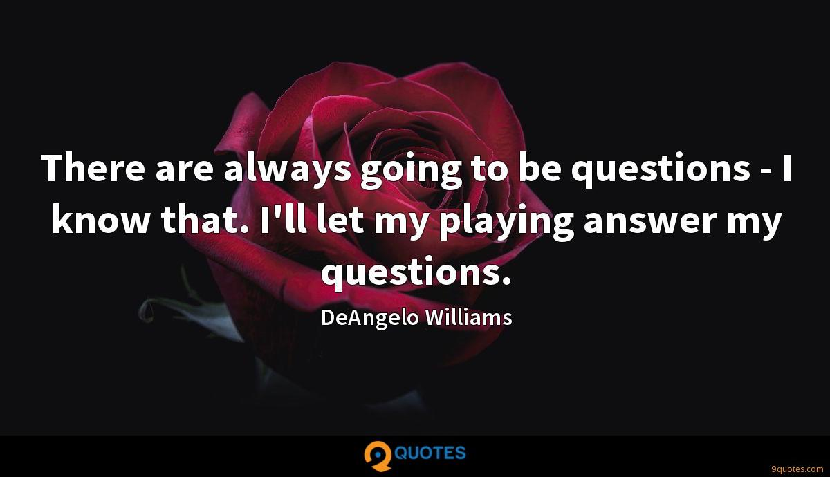 DeAngelo Williams quotes