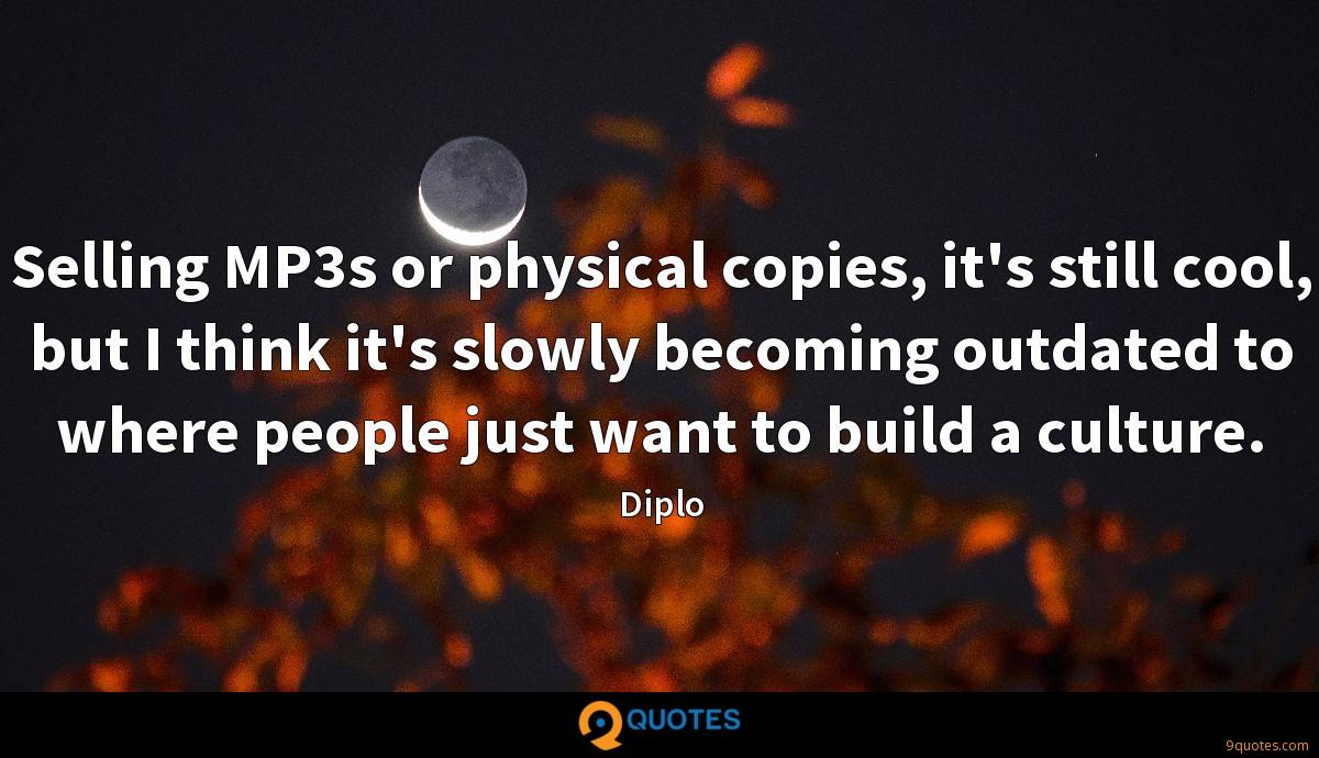 Diplo quotes