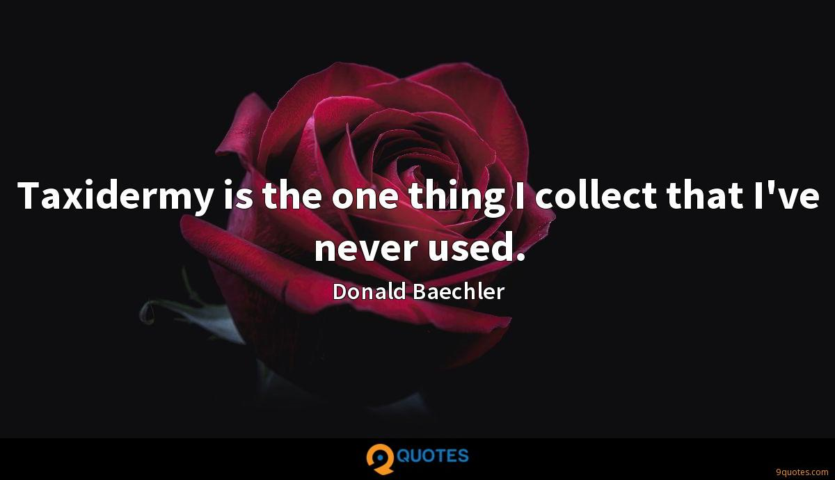 Donald Baechler quotes