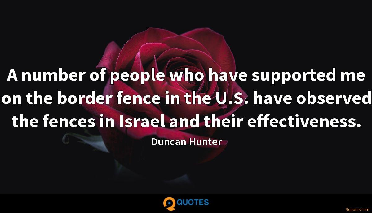 Duncan Hunter quotes