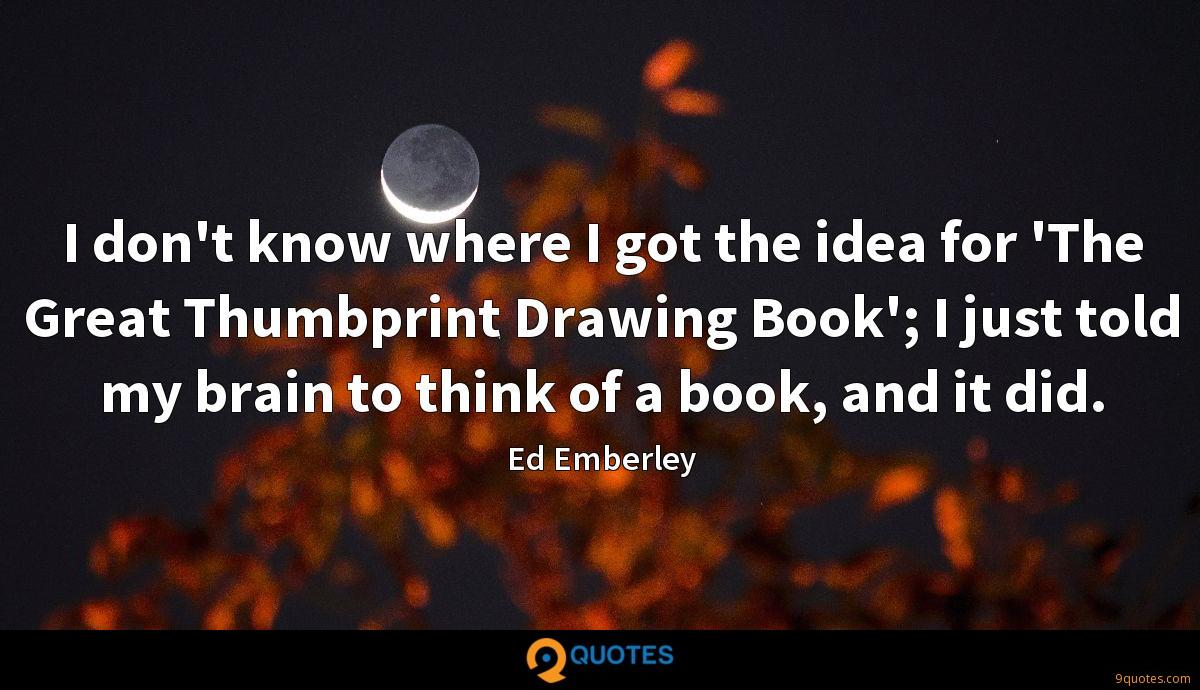 Ed Emberley quotes