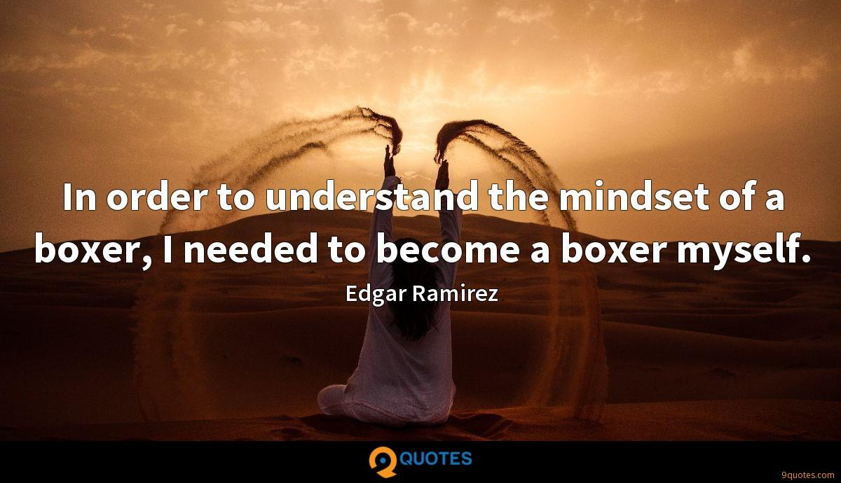 In order to understand the mindset of a boxer, I needed to become a boxer myself.