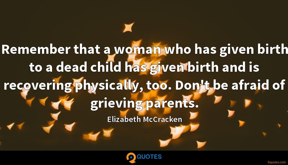 Elizabeth McCracken quotes