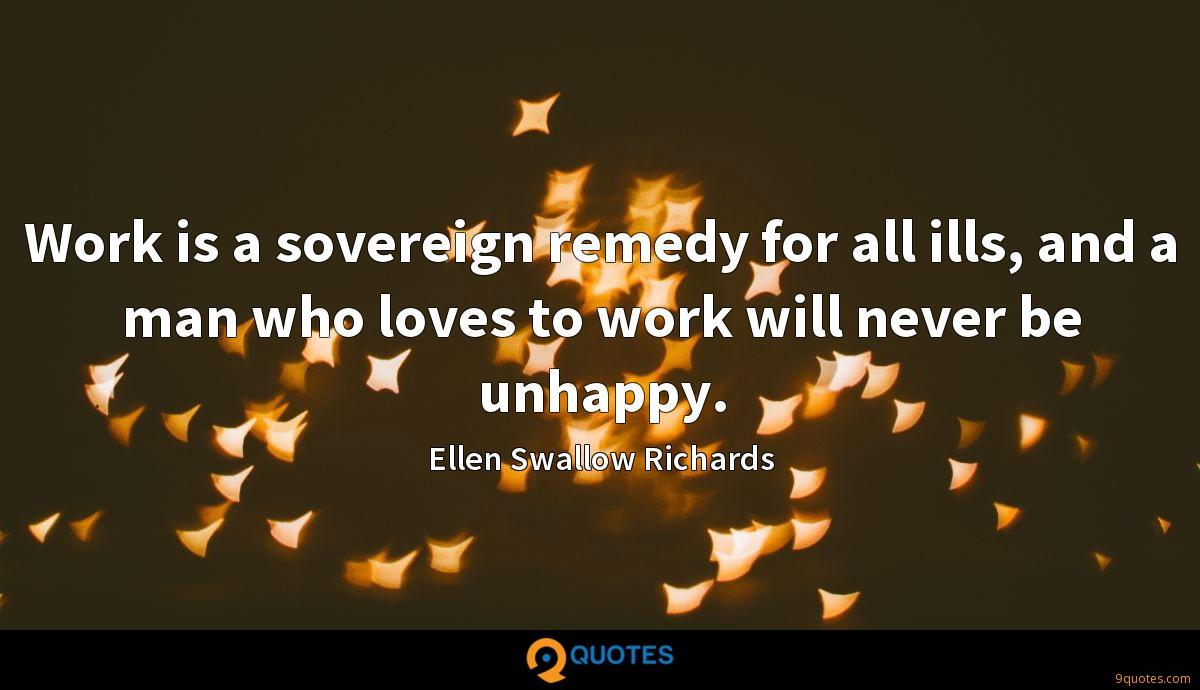 Ellen Swallow Richards quotes