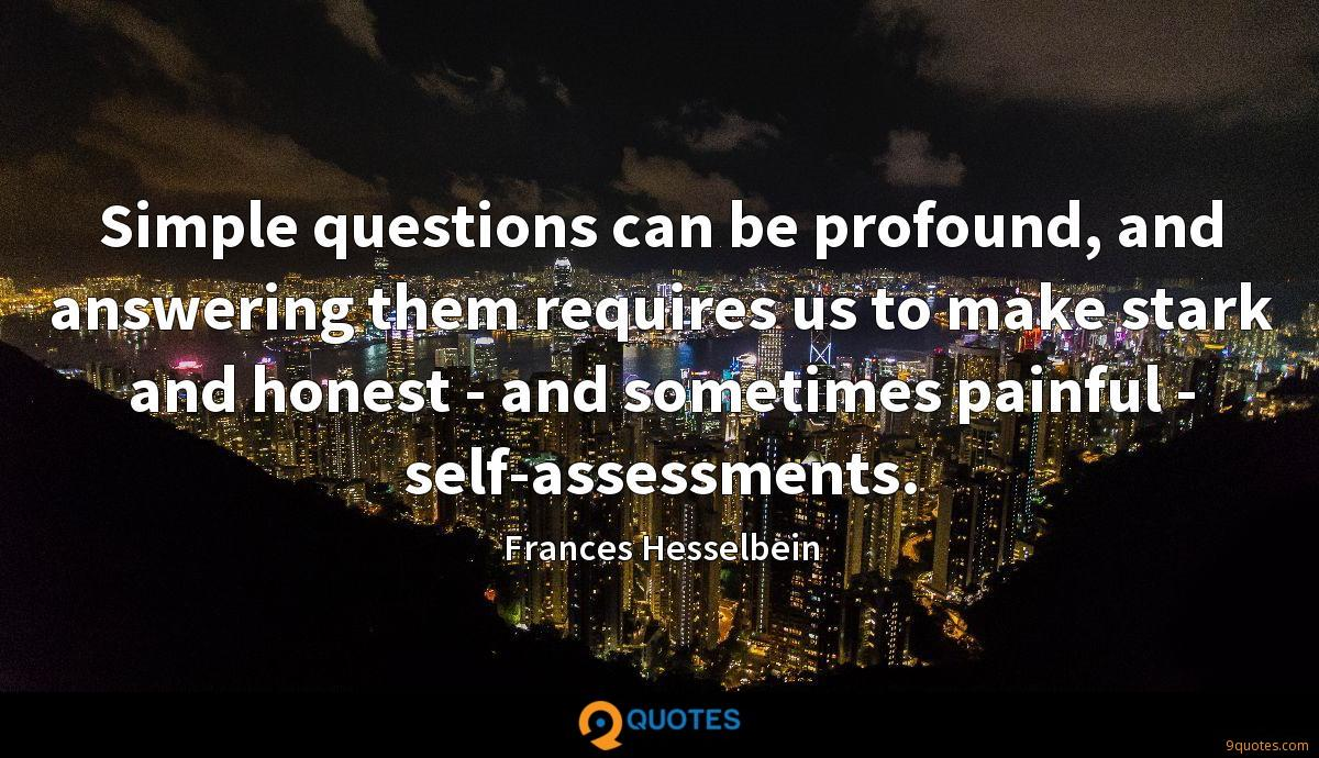 Frances Hesselbein quotes