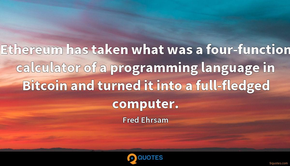 Fred Ehrsam quotes