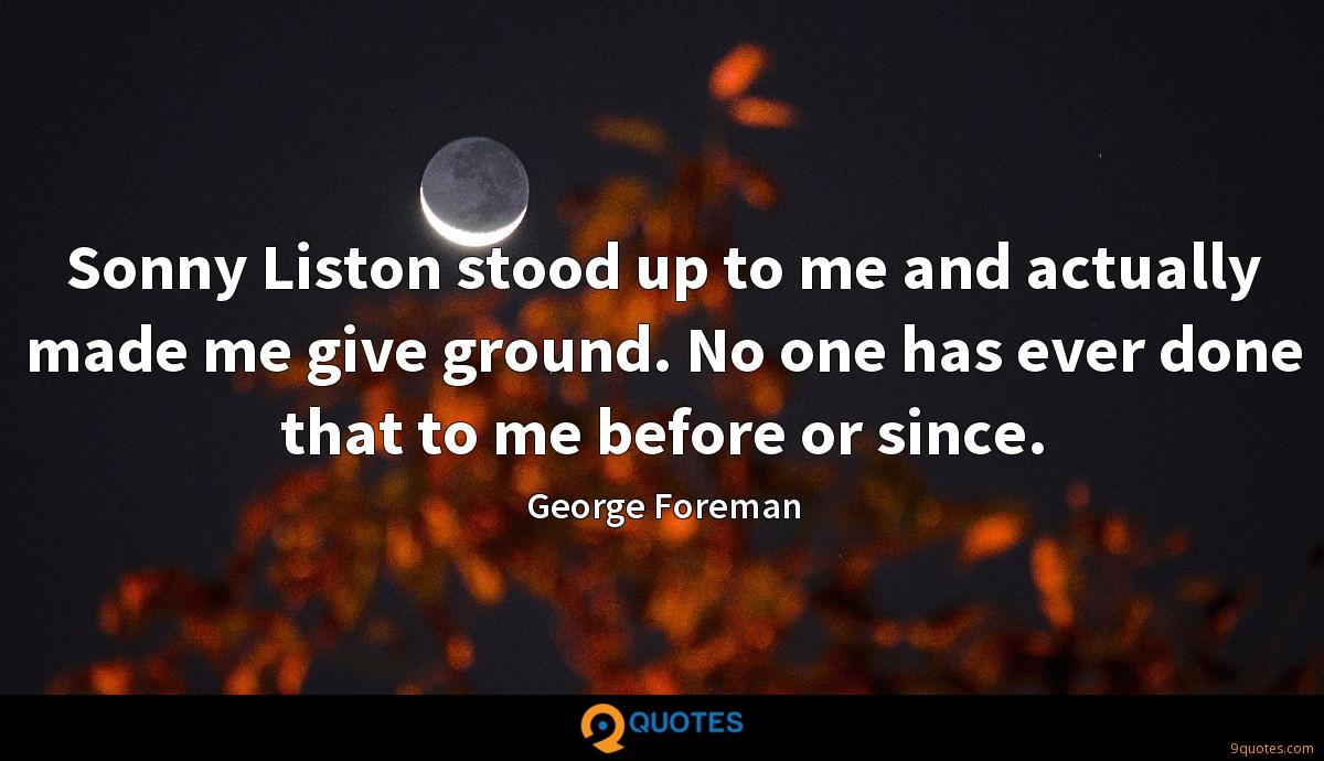 George Foreman quotes