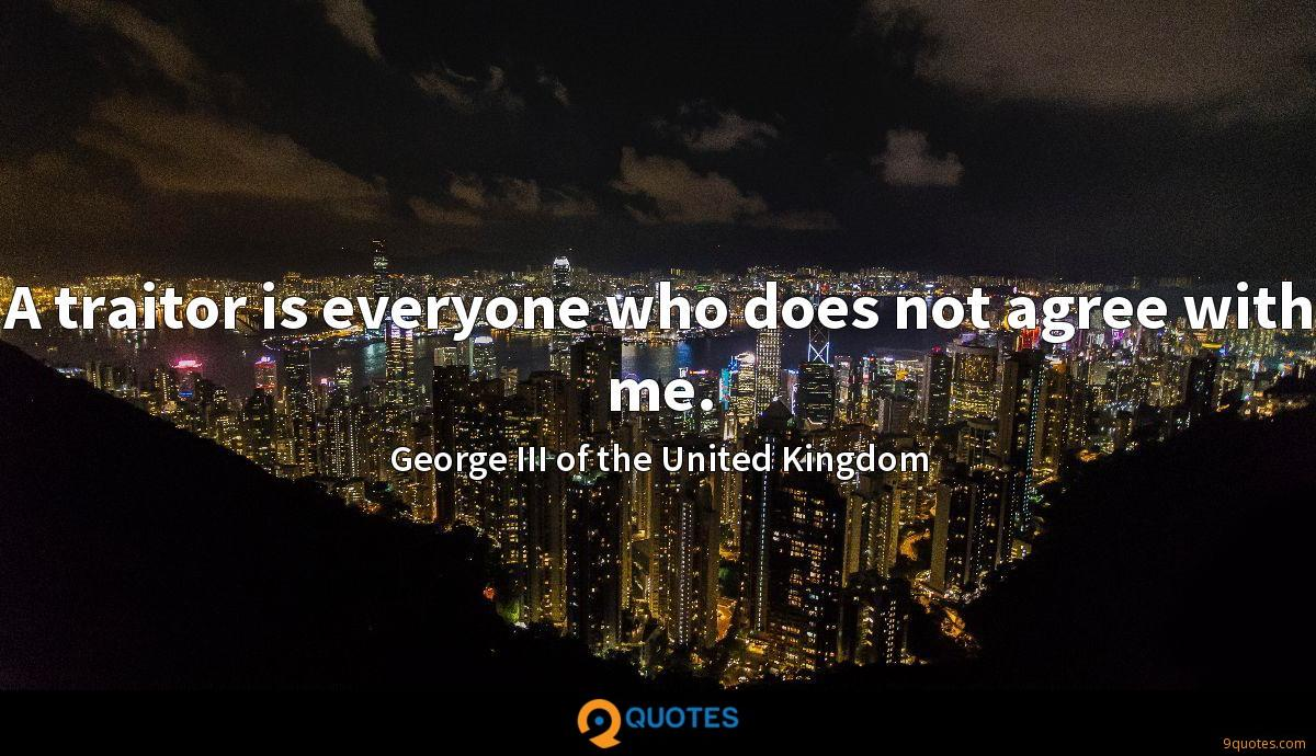 George III of the United Kingdom quotes