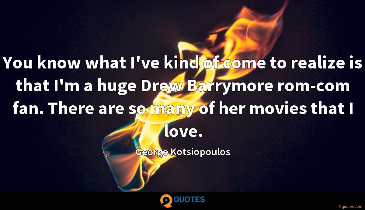 You know what I've kind of come to realize is that I'm a huge Drew Barrymore rom-com fan. There are so many of her movies that I love.