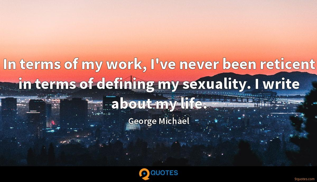 George Michael quotes