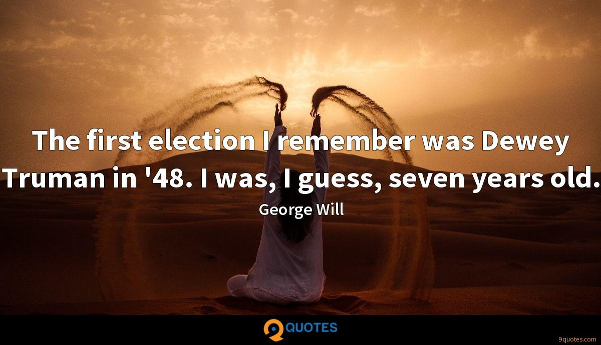 George Will quotes
