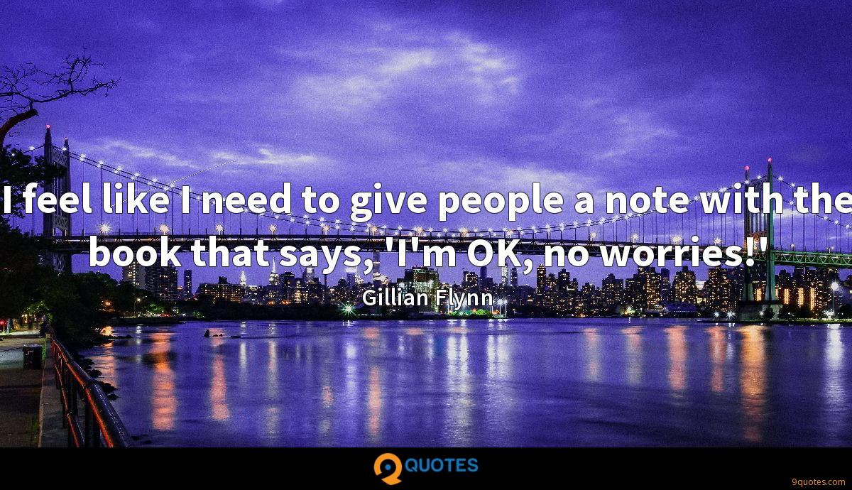 Gillian Flynn quotes
