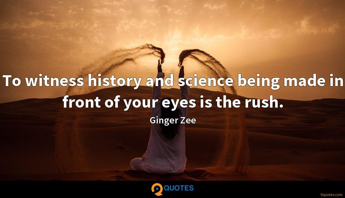 Ginger Zee quotes