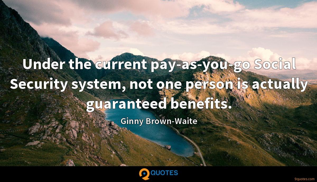 Ginny Brown-Waite quotes